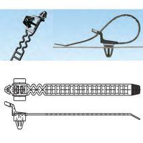 Lösbare Ankerkabelbinder in Leiterausführung