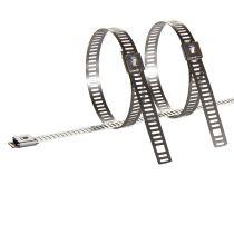 Stahlkabelbinder unbeschichtet für Leiter