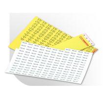 Leiterkennzeichnungsetiketten für Laserdrucker