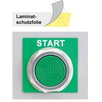 Laminatschutzfolie für Schaltschranketikette