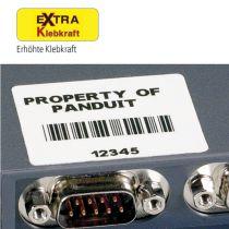 Komponentenetiketten Extra Klebkraft (LS8E)