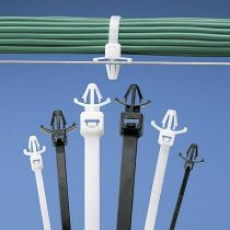 Kabelbinder mit Spreizanker UV-stabilisiert