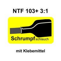 NTF 103+ Schrumpfrate 3/1, geklebt
